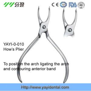 Dental Instrument Orthodontic Pliers - How′s Plier (A-010) pictures & photos