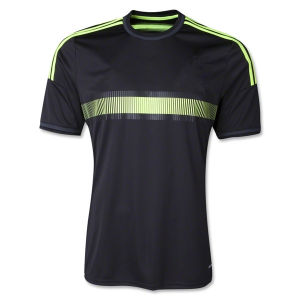 New 2014 Camisetas De Futbol Espana Away Black Football Soccer Jerseys Uniforms Short Sleeve