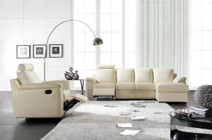 Italy Leather Sofa Sets for Living Room Used pictures & photos