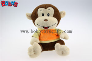 Plush Stuffed Baby Monkey Toy with Embroidery Smile Face and T-Shirt Bos1179 pictures & photos