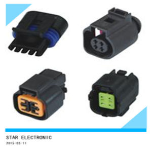 China Factory 4 Pin Male Female Plastic Connectors pictures & photos