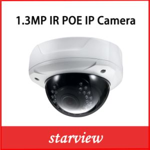 1.3MP Poe Vandalproof IR CCTV Security Network IP Dome Camera pictures & photos