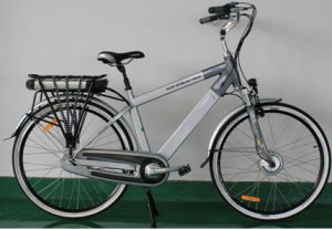 36V Electric Bicycle Mountain Lithium Battery Bicycle (HDM-03) pictures & photos