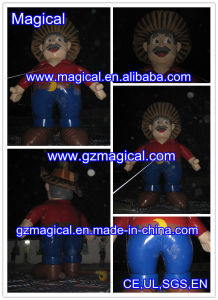 Amazing Inflatable Cartoon Man Model for Advertising (MIC-418) pictures & photos
