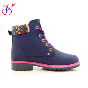 2017 New Style Injection Man Women Safety Working Work Boots Shoes for Job (SVWK-1609-015 BLUE) pictures & photos