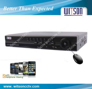 Witson Hot 8CH D1 Real Time Network DVR (W3-D3208HT) pictures & photos