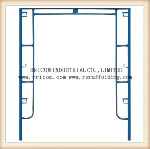 H Frame Scaffolding for Engineering Construction Q235 pictures & photos
