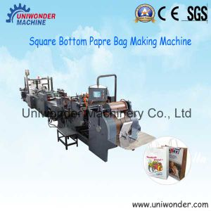 430-1 Roll Feeding Square Bottom Paper Bag Making Machine
