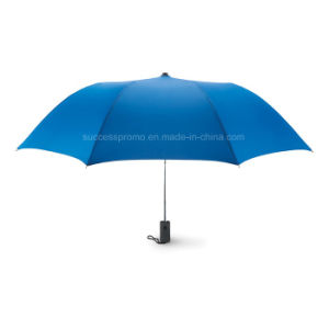 21 Inch Auto Open 2 Fold Umbrella in 190t Pongee pictures & photos