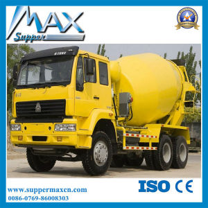 Shacman 6X4 Concrete Transport Truck with Pump Self Loading Concrete Mixer Truck pictures & photos
