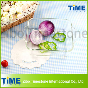 Borosilicate Glass Cookware Baking Pan (DPP-107) pictures & photos