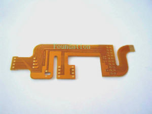 Flexible Double-Sided Membrane Printed Circuit Board FPC pictures & photos