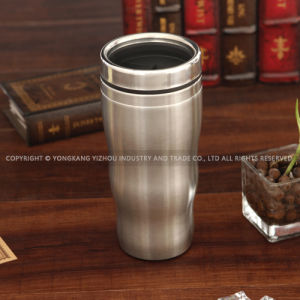 450ml Double Walls Metal Coffee Mug pictures & photos