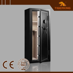 Fireproof Gun Safe with Mechanical Lock and Ammo Box pictures & photos
