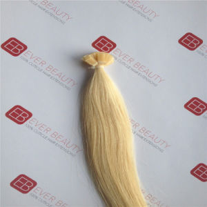 Pre Bonded Flat Tip Human Hair Brazilian Remy Hair pictures & photos