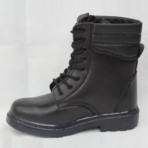 Long Safety Boots-PU Leather pictures & photos