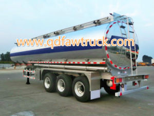 Adr/DOT Certificate Aluminium Tank Trailer pictures & photos
