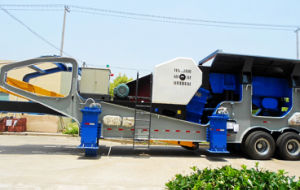 Mobile Stone Crusher for Hard Rock 250tph (WL38E69) pictures & photos