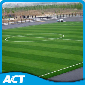 UV Resistant Most Popular Durable Football Soccer Artificial Grass Factory (MB50) pictures & photos