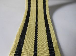 High Strong Black&Yellow Kevlar Webbing for Fire Safety pictures & photos
