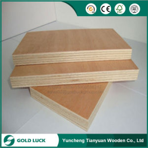 1220mm*2440mm*15mm Red Wood Commercial Plywood pictures & photos