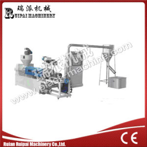 Single Screw Air Cooling Plastic Recycling Machine pictures & photos