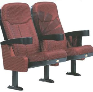 Fabric Theater Seating Public Commercial Cheap Cinema Hall Chair (S98Y) pictures & photos