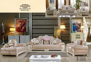 New Classic Sofa, Dubai Fabric Sofa (F529) pictures & photos