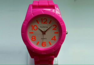Plastic Cement Simple Fashion Rubber Environmental Protection Watch pictures & photos