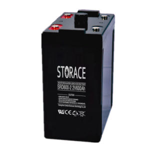 Deep Cycle Battery Srd600-2 2V 600ah for Solar System pictures & photos