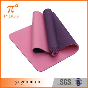 TPE Yoga Mat Manufacture for Wholesale pictures & photos