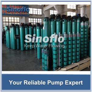 Deep Well Submersible Dewatering Pump pictures & photos