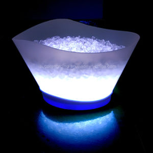 Wholesales Barware Rechargeable Wireless 12L LED Ice Bucket pictures & photos