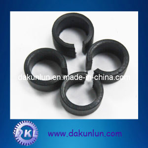 Slotted Nylon/PPO/POM Black Plastic Bushing pictures & photos