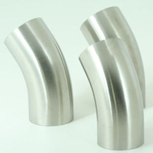 2 Inch SMS Sanitary 45 Degree Long Elbow pictures & photos