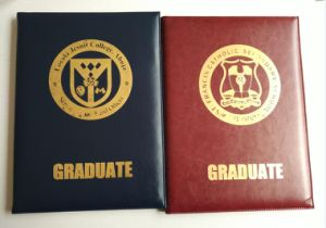 Diploma Certificate Holder with PU Leather pictures & photos