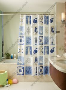 PEVA Bath Curtain pictures & photos