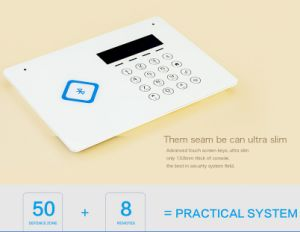 Home GSM Alarm System with RFID Card (ES-G66B) pictures & photos