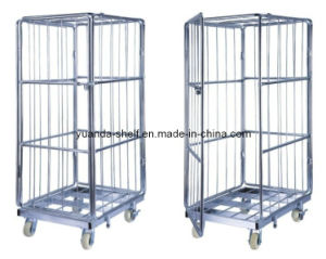 Logistics Cart Warehouse Roll Container Cage pictures & photos