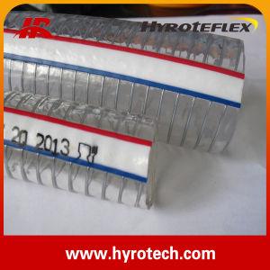 PVC Spriral Steel Wire Reinforced Hose&PVC Steel Wire Hose& PVC Hose pictures & photos