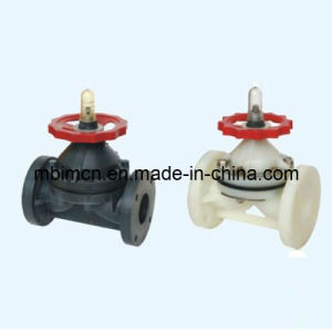 Flange Type Anticorrosion Plastic Diaphragm Valve (G41F-6S) pictures & photos