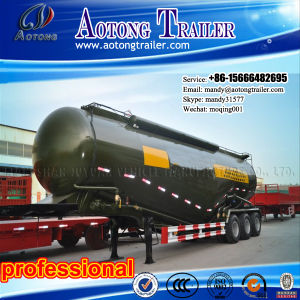 50m3 V Shape Bulk Cement Tank Semi Truck Trailer pictures & photos