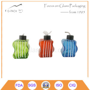 Green, Red, Blue Glass Oil Lamp, Table Lighting pictures & photos