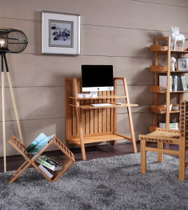 Bamboo Desk Computer Table Computer Desk pictures & photos