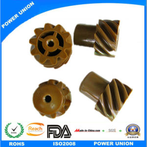 Acetal Resin POM Plastic Injection Helical Spiral Gears pictures & photos