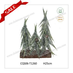 25cm Wholesale Artificial Christmas Tree Artificial Flower