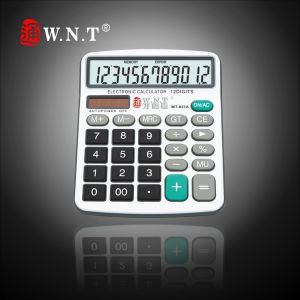 12 Digits Dual Power Desktop Calculator with Solar Power (WT-837, WT-837A, WT-837N)