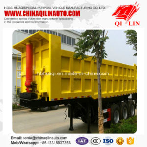 Brand New 50t - 80t Bulk Cargo Rear Dumpper Tipper Trailer pictures & photos