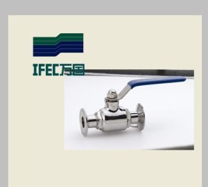 Sanitary Stainless Steel Clamp/Clamp Ball Valve pictures & photos