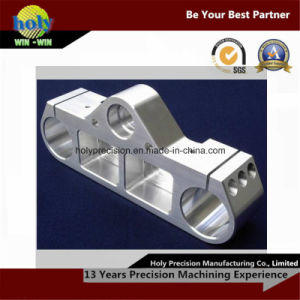 Aluminium Machining with High Precision Triple Clamp pictures & photos